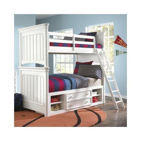 Bundle-53 Samuel Lawrence Summer Time Bunk Customizable Bedroom Set (4 Pieces) - Walmart.com