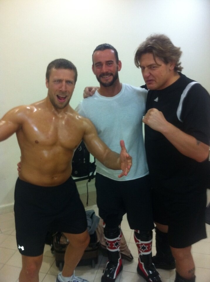 CM Punk, Daniel bryan, and William regal