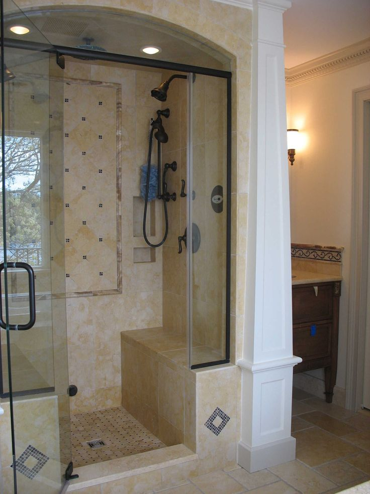 Standing Shower Small Bathroom: Best 25+ Stand Up Showers Ideas On Pinterest