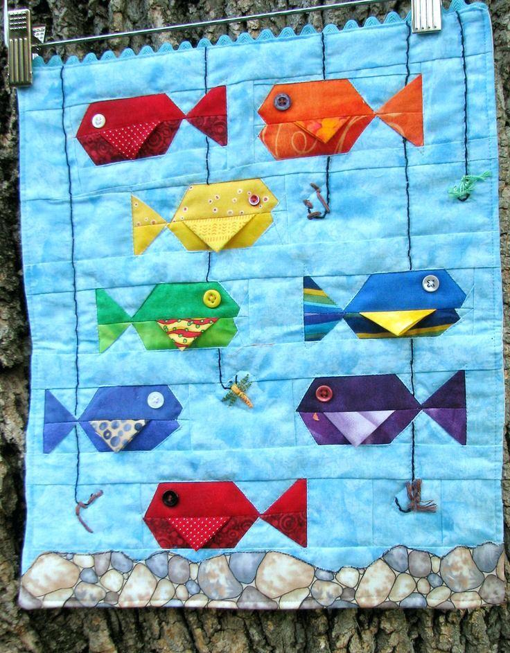 Koi Fish Quilt Patterns Cute Mini Fish Quilt Fish Quilt