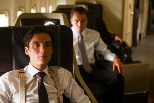 Inception  DiCaprio & Cillian Murphy (Peaky Blinders) on plane