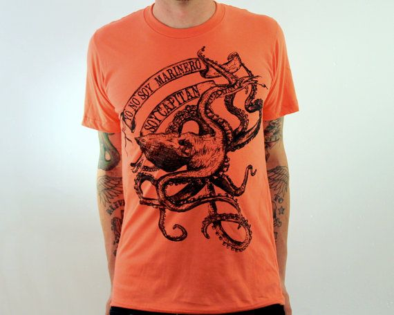 Hey, I found this really awesome Etsy listing at http://www.etsy.com/listing/129749901/la-bamba-octopus-t-shirt-american