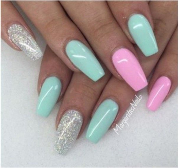 Pin By Norma Commendatore On Nails Summer Nails Colors Nail