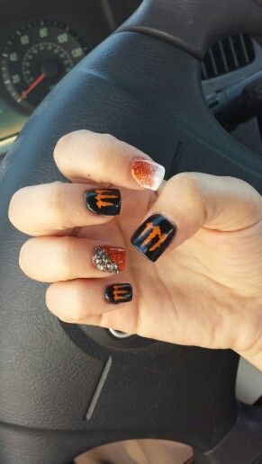 1000+ Ideas About Fox Racing Nails On Pinterest