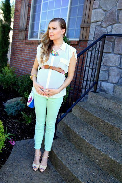 vintage pretty: Pregnant at 23 weeks