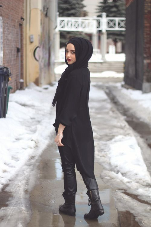 Liani style inspiration  Street Hijab Fashion