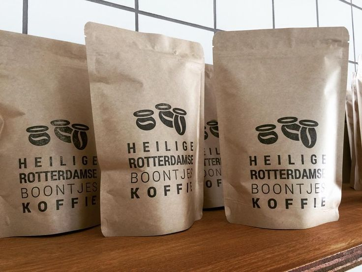 Coffee Packaging Kraft Paper Stand Up Pouches Kraft