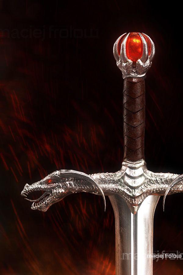 Dragon`s sword on Behance