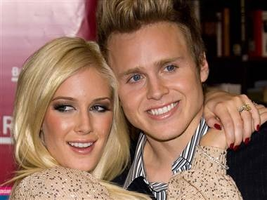 "Heidi and Spencer Pratt: We faked our fights on ""The Hills."" We never would have guessed. (  Charles Sykes / AP file)"