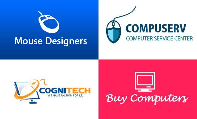 40 Creative Computer Logo Design examples for your inspiration. Read full article: http://webneel.com/computer-logos-design | more http://webneel.com/logo-design | Follow us www.pinterest.com/webneel