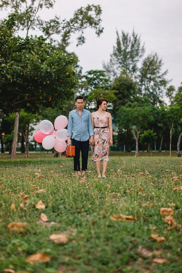 Balloons are great props that spice up a shoot. Photography by Jonah Sun, principal photographer of All Aflutter