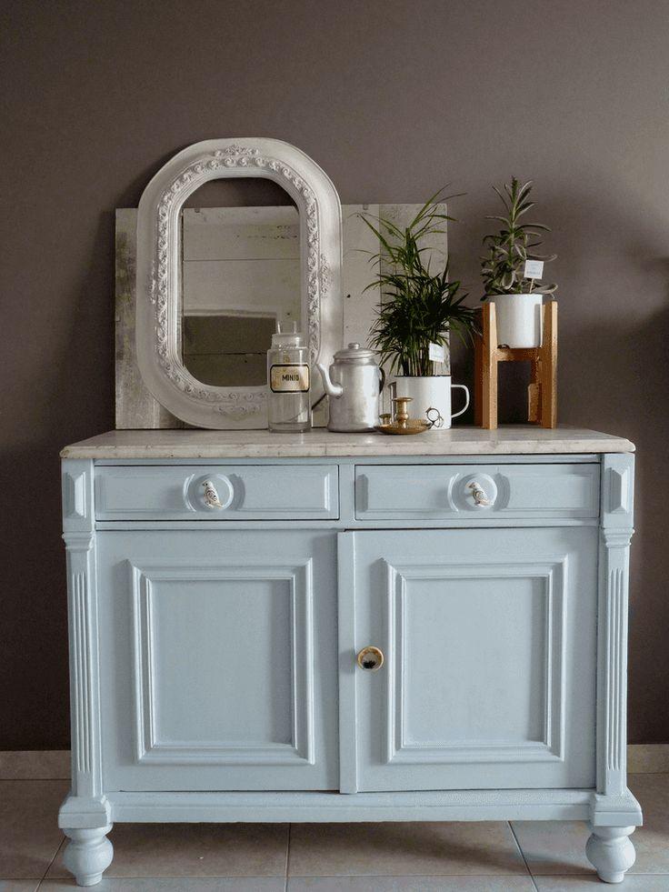 Las 25 mejores ideas sobre aparador antiguo en pinterest - Reciclar marmol ...