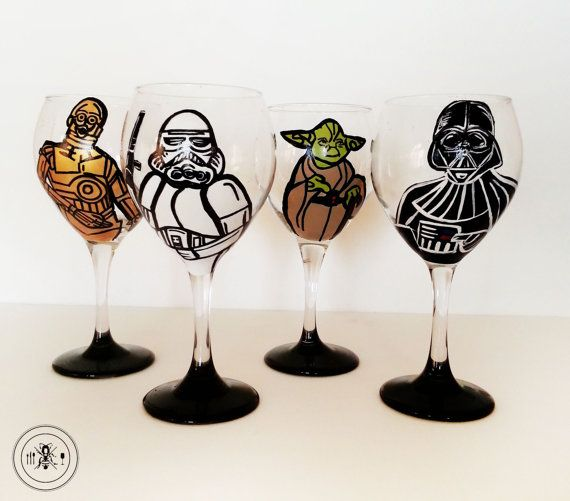 May the force and wine be with you!