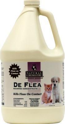Natural Chemistry De Flea Shampoo - Gallon
