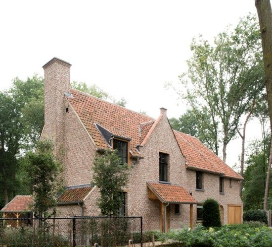1000 images about belgische architectuur on pinterest for Engelse tuin 1 waalre