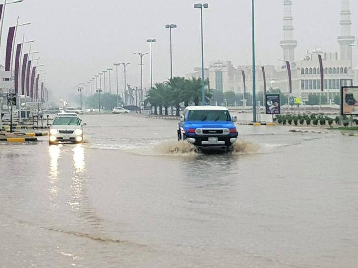 أمطار رعدية في السعودية Olivia Baker Road