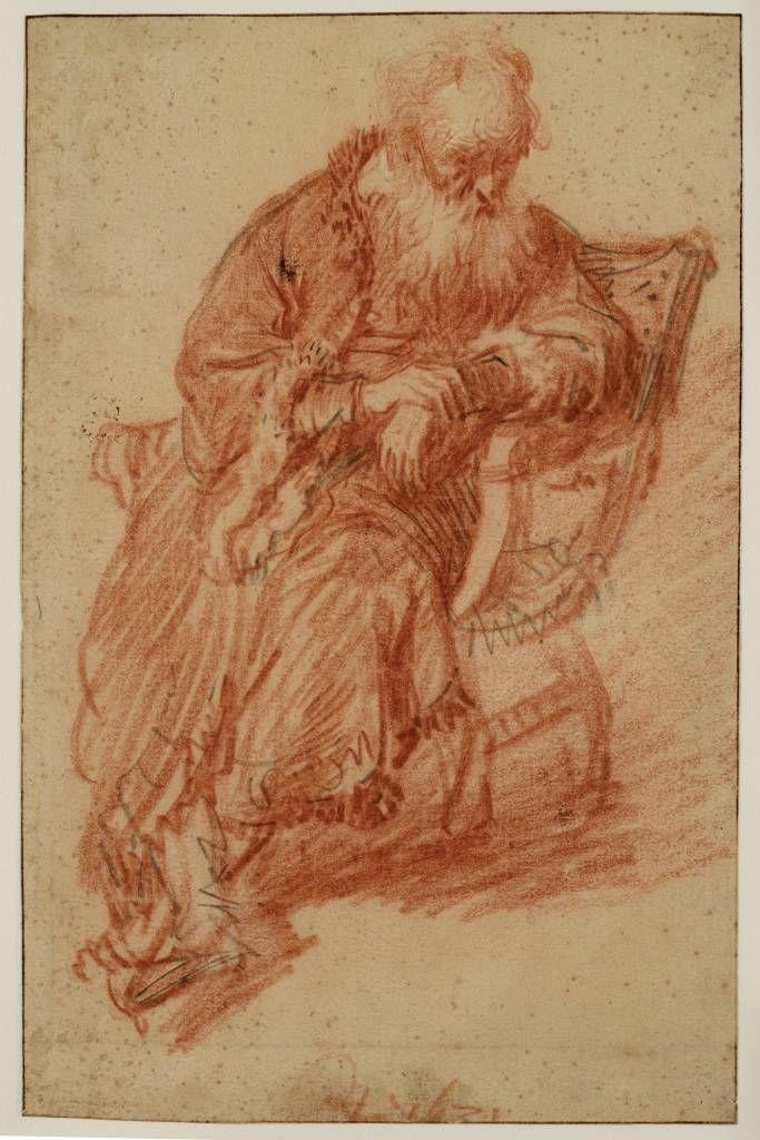 Mijn favoriete Rembrandt in Teylers Museum: Zittende oude man