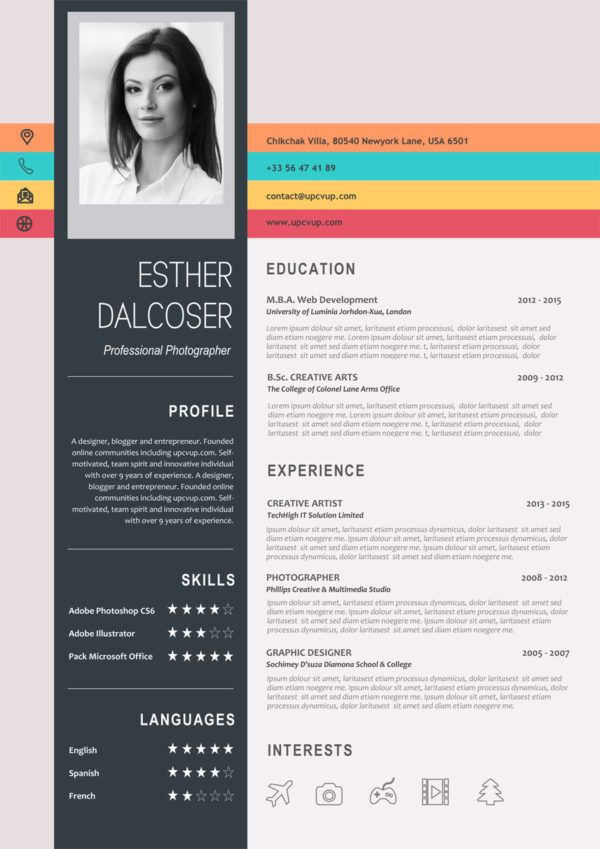 Curriculum Vitae Colore A Telecharger Format Word Moderne Upcvup Cv Design Resume Design Curriculum Vitae Creative