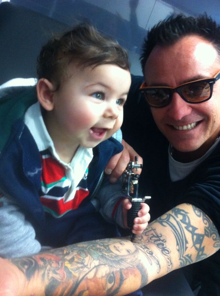 my favorite tattoo artist more good in the world,,, the best love