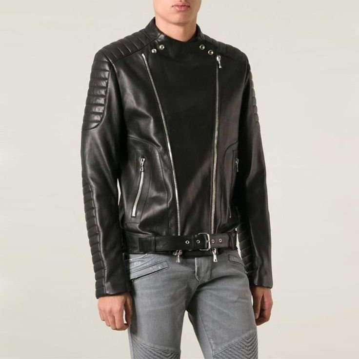 Balmain is a French fashion label that is widely celebrated and recognized for its distinctive biker-themed designs and creations. Balmain's most renowned design is no doubt its stunning leather biker jacket that has been seen on countless celebrities, such as Rihanna, Miranda Kerr and Beyonce, and is loved by many around the globe.