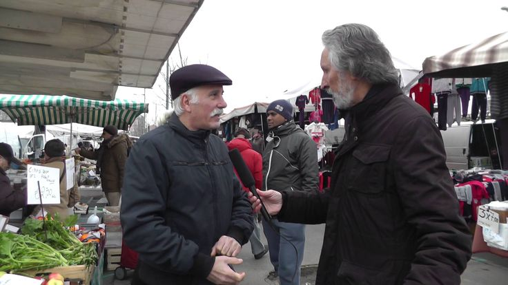 Elezioni europee Lombardia 2014 - interviste al mercato di Bonola a Milano