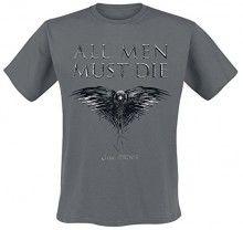 Camiseta  Juego de Tronos All Men Must Die