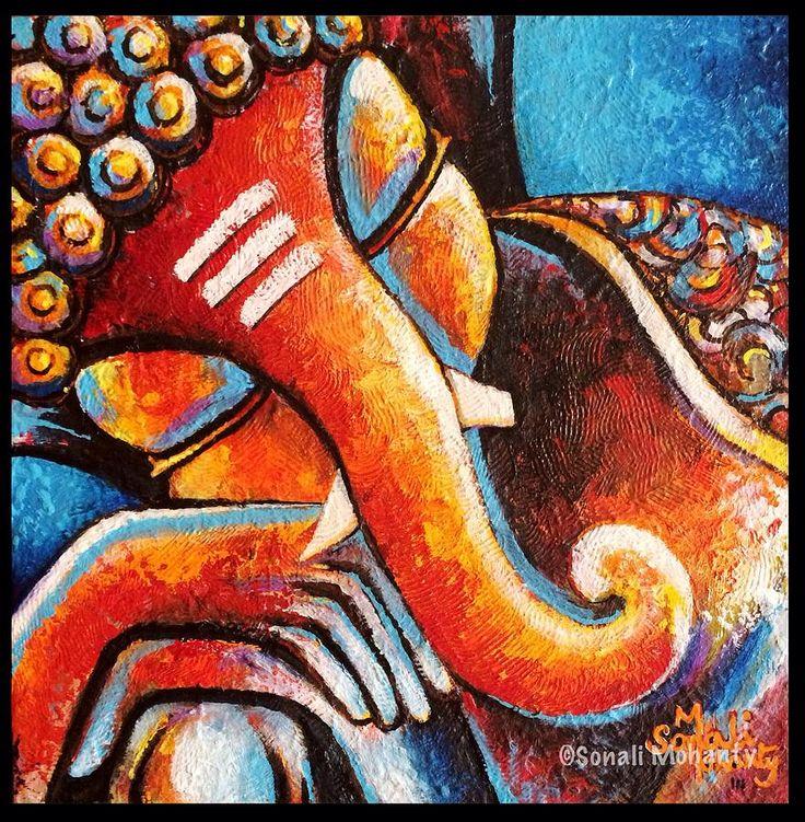 ganesha-the-divine-sleep-sonali-mohanty-.jpg (882×900)