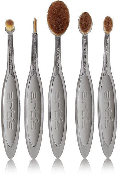 Artis Brush - Elite Smoke 5 Brush Set - Dark gray - one size