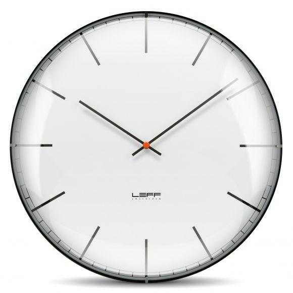 1 SOFA 3 WAYS: LEFF Amsterdam one glass convex clock. Shop now at www.hardtofind.com.au