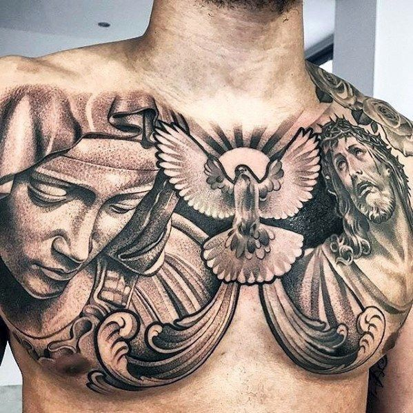 35 Best Inspiring Tattoo Design For Cool Men With Images Chest