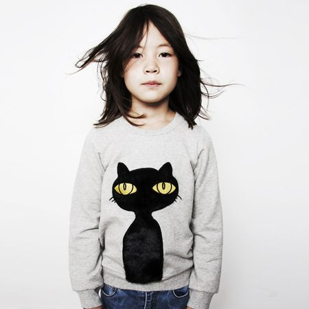 cute: Girl, Minirodini, Minis, Baby, Black Cat, Kid