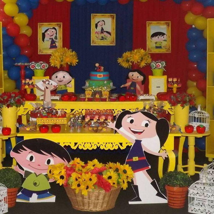 """Sugestões para festa no tema """"O Show da Luna""""   Inspire sua festa"""