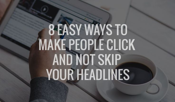 Your #headlines make-or-break your #onlinebusiness . Here is how to easily come up with catchy headlines that get clicked and not skipped!