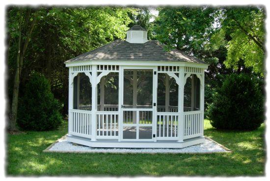 gazebo | ... vinyl railing cupola vinyl gazebo price sheet vinyl gazebos in stock