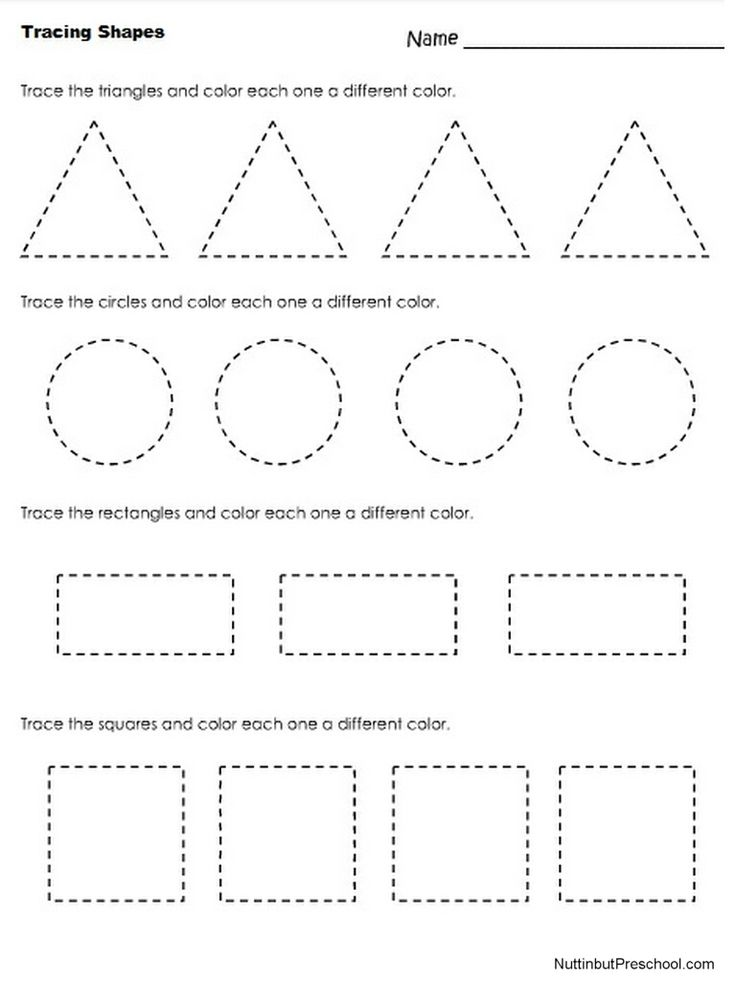 Worksheets Free Shape Worksheets 25 best ideas about tracing shapes on pinterest preschool worksheets free printable printables worksheet math ide