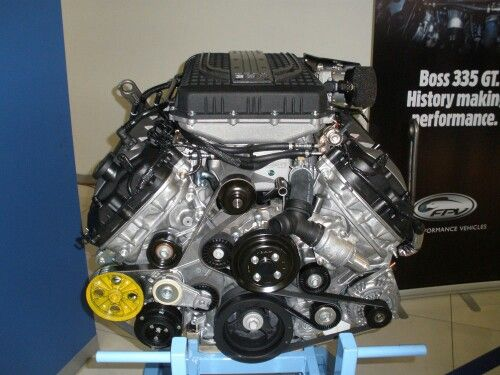 Ford 5.0 Coyote S/C Motor
