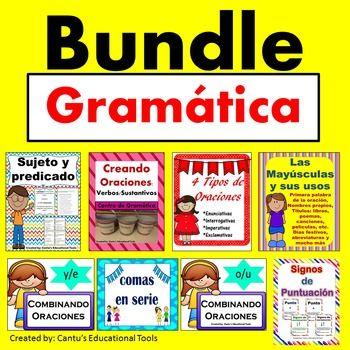 Gramatica Bundle:  Este bundle incluye 8 productos relacionados con las…