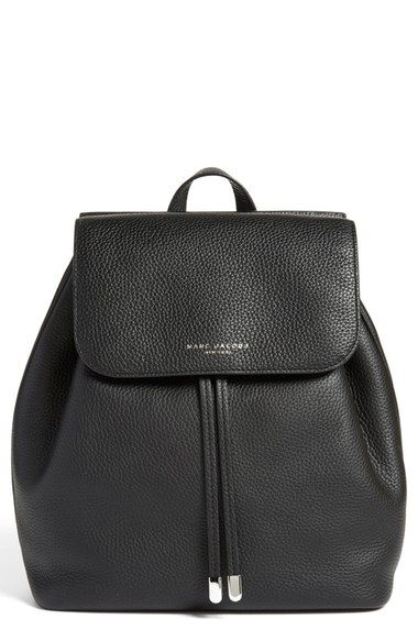 MARC JACOBS 'Pike Place' Pebbled Leather Backpack (Nordstrom Exclusive) available at #Nordstrom