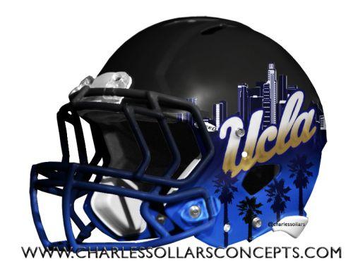 Charles Sollars Concepts @charlessollars #UCLA http://www.charlessollarsconcepts.com/ucla-helmet-concepts/