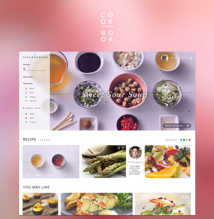 Foodapp https://dribbble.com/shots/1722103-cook-book-training-stuff/attachments/277459