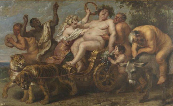 El triunfo de Baco - Colección - Museo Nacional del Prado