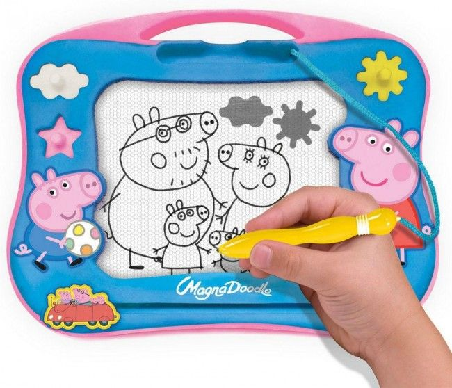 Tableau magnétique Peppa Pig pour le voyage - Castello   Jeux et Jouets