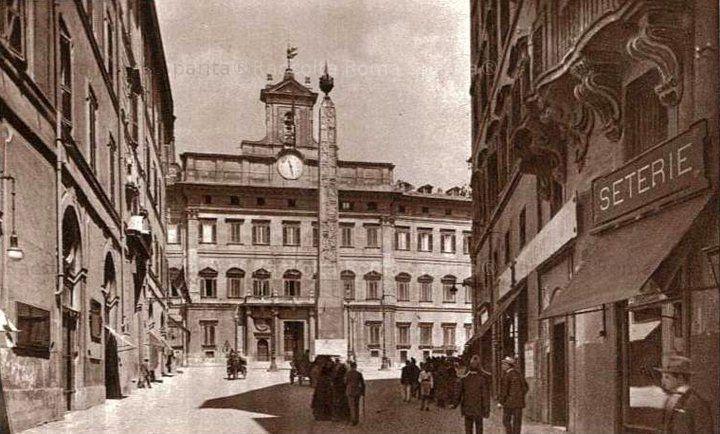 Roma Sparita - Piazza Montecitorio