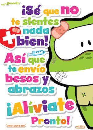 Postales de Buenos deseos | Gusanito.com
