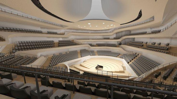 Large Hall of the Elbphilharmonie, Hamburg