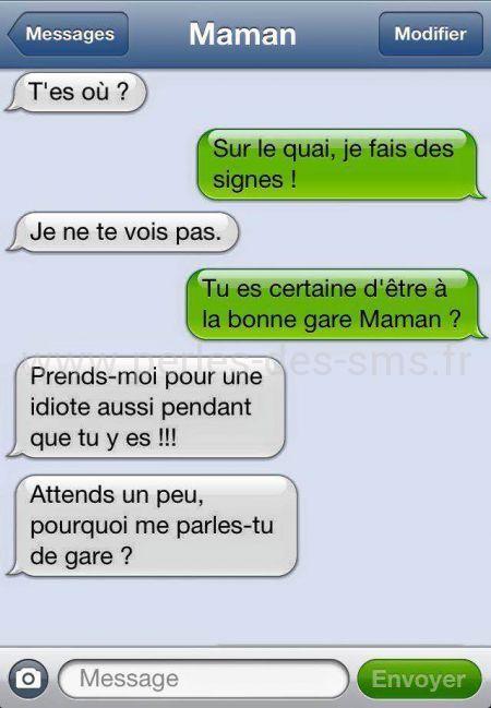 gare maman perles des sms