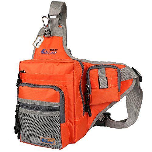 Shelure Outdoor Sports Shoulder Bag Fishing Tackle Waist Backpack Crossbody Hiking Travel Messenger Sling Bags http://fishingrodsreelsandgear.com/product/shelure-shoulder-bag-fishing-tackle-bag-chest-bag-crossbody-messenger-sling-bags-outdoor-sports-hiking-travel/?attribute_pa_color=orange