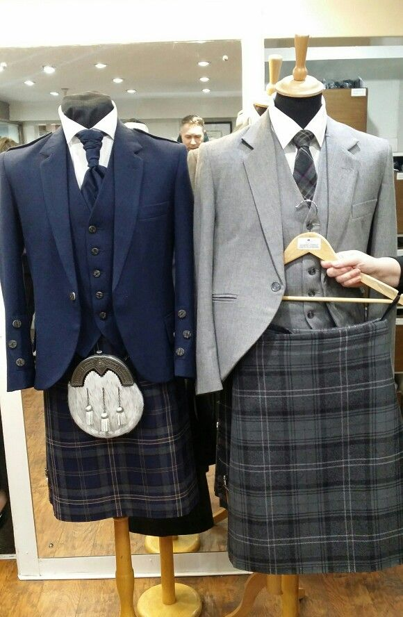 Lomond Grey Tweed Jacket and Highland Granite Kilt