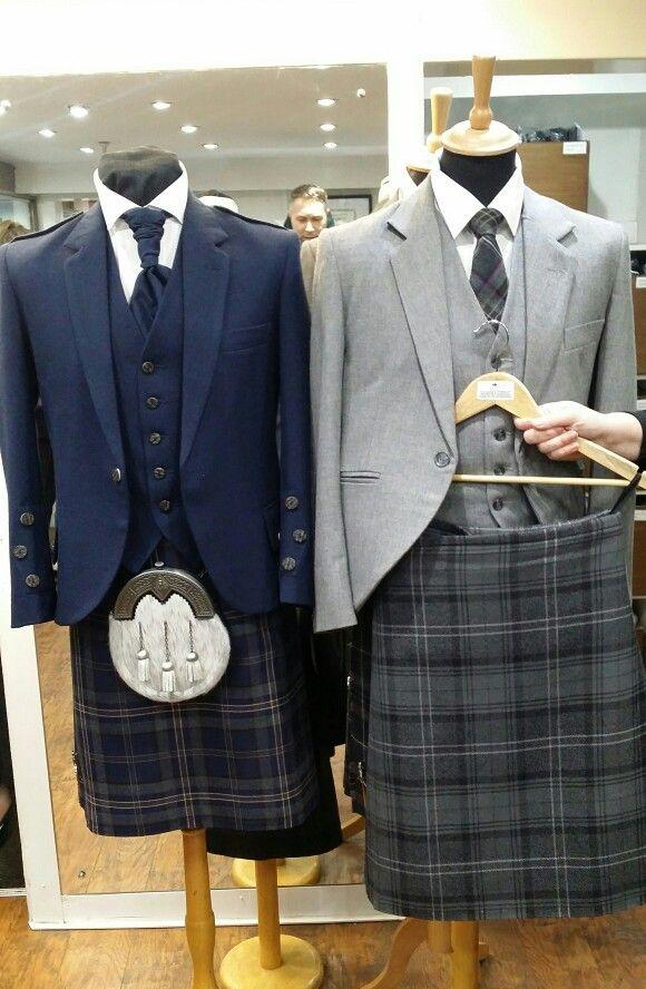 Lomond Grey Tweed Jacket and Highland Granite Kilt