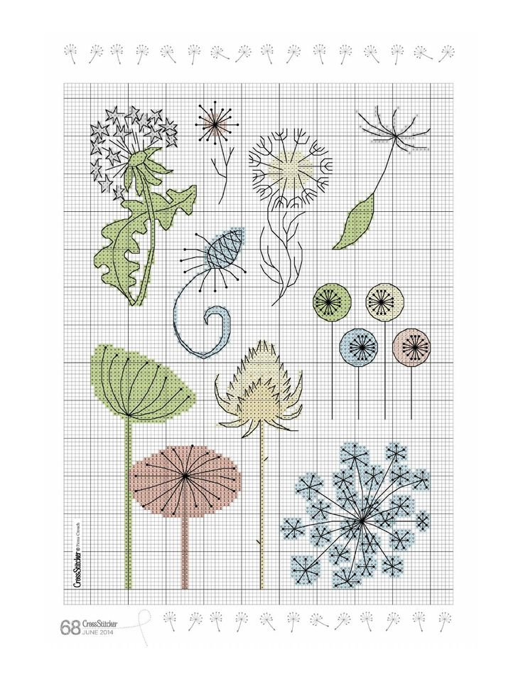 ISSUU - Cross stitcher 279 by Елена Эшт